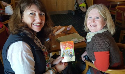 author michelle jackson and me at book launch naomh barrog gaa club sat april 23