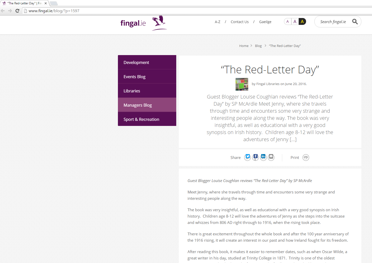 june-20-review-of-the-red-letter-day-on-fingals-blog